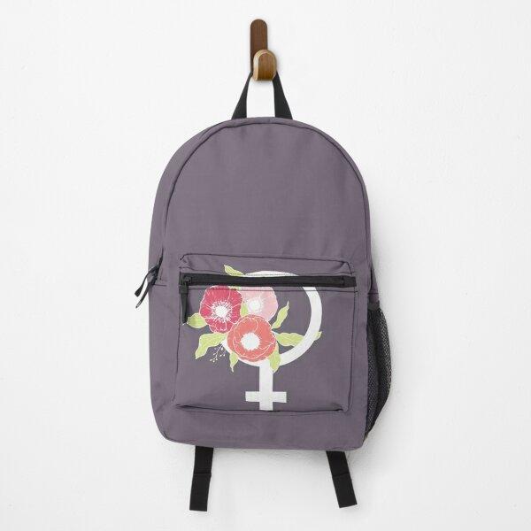 Female #redbubble #buyart Backpack