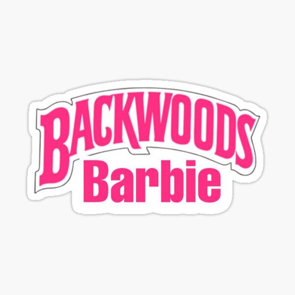 BACKWOODS BARBIE STICKER  Sticker