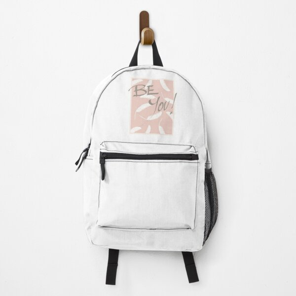 Be You! #redbubble #motivational Backpack