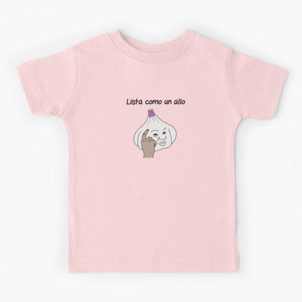 Lista como un allo Camiseta para niños