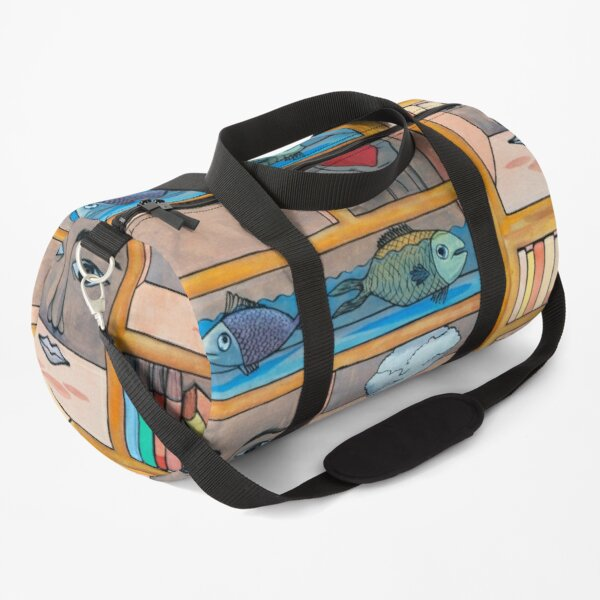 Bookcase Duffle Bag