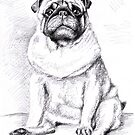 The Pug - Der Mops by Nicole Zeug