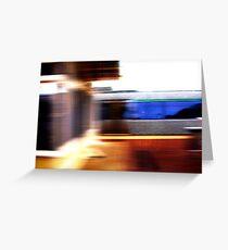 Train - 11 03 13  Greeting Card