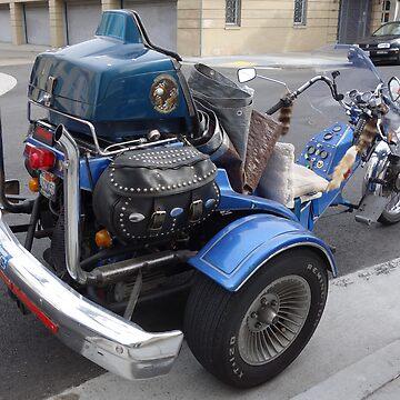 Motor Trike by mindfu