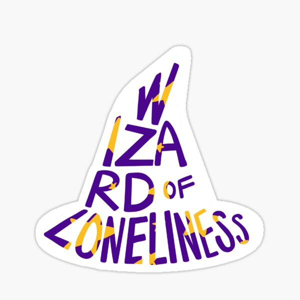 Nathan for You - Nathan Fielder - Wizard of Loneliness Sticker