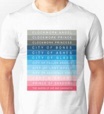 Cassandra Clare: Titles Unisex T-Shirt
