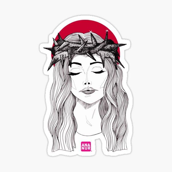 Hêmikrania (migraine) Sticker