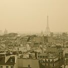Paris Skyline by Louise Fahy