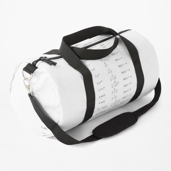 Table of Laplace Transform #Table #Laplace #Transform #LaplaceTransform Duffle Bag