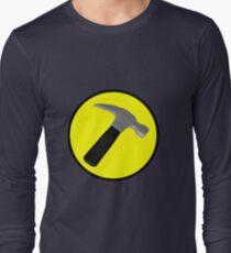Captain Hammer Logo  Long Sleeve T-Shirt