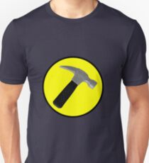 Captain Hammer Logo  T-Shirt