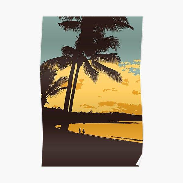 Airlie Beach Australia Sunset Poster