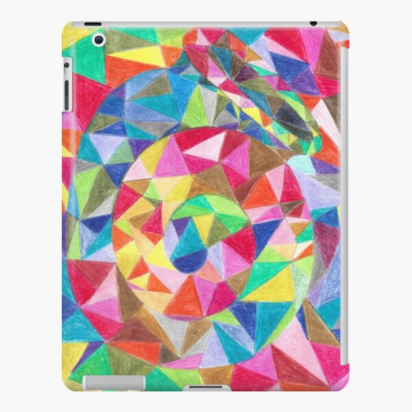 Colourful shell horn iPad Snap Case