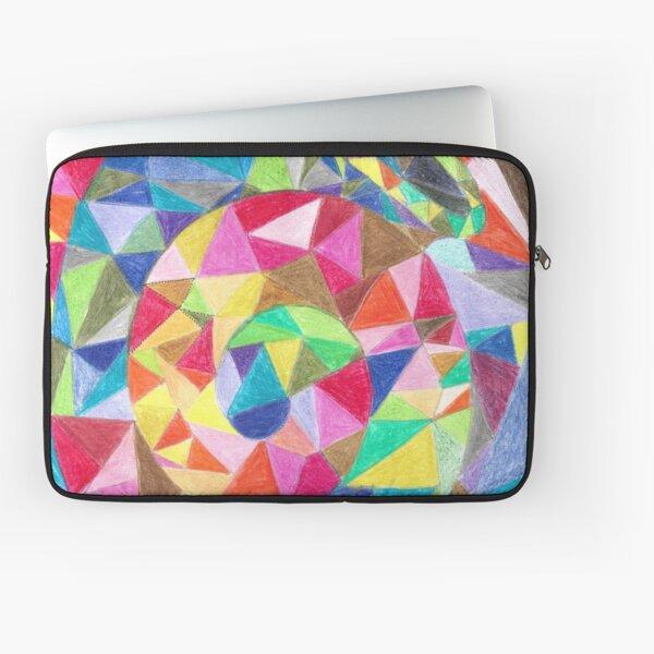 Colourful shell horn Laptop Sleeve