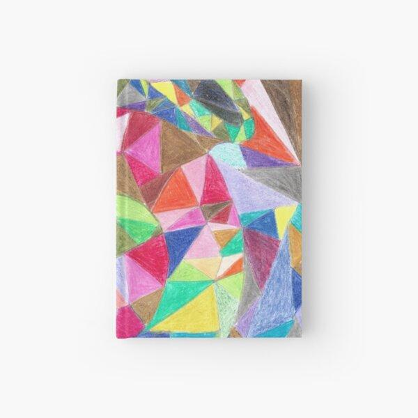 Colourful shell horn Hardcover Journal