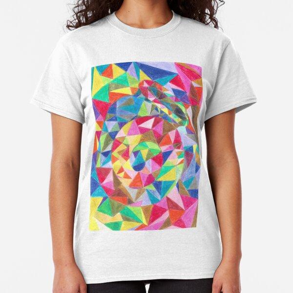 Colourful shell horn Classic T-Shirt