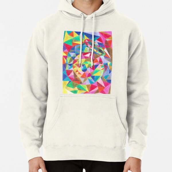 Colourful shell horn Pullover Hoodie