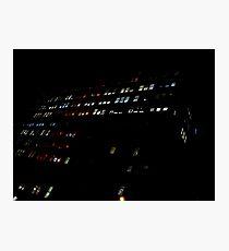 Mondrian Lights. Photographic Print