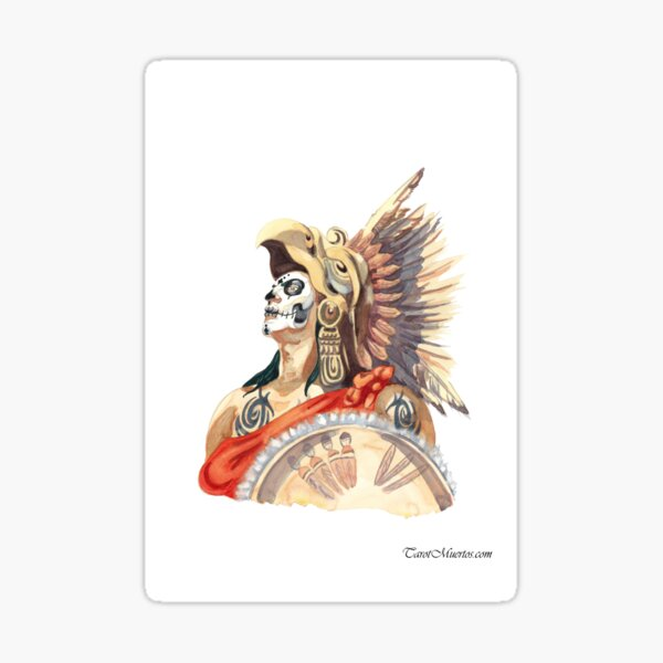 Emperor/El Emperador tarot Card Sticker