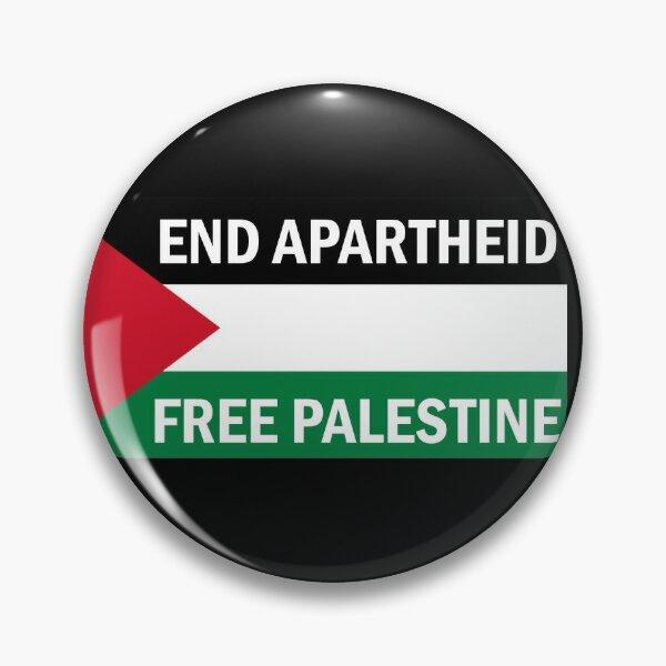 End Apartheid - Free Palestine Pin