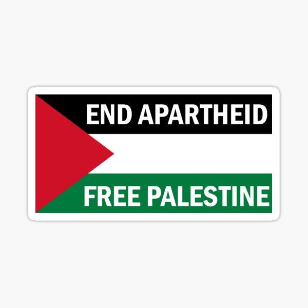 End Apartheid - Free Palestine Sticker