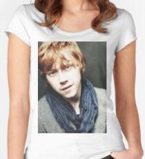 Rupert Grint 'Ronald Weasley' Women's Fitted Scoop T-Shirt