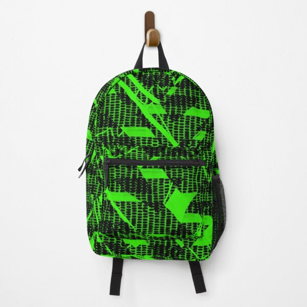 Crazy Pattern stripes lines  Backpack