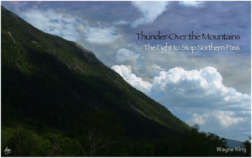 Thunder Over the Mountains Original Art by Wayne King