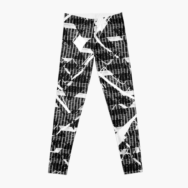 Crazy Pattern stripes lines BNW Leggings