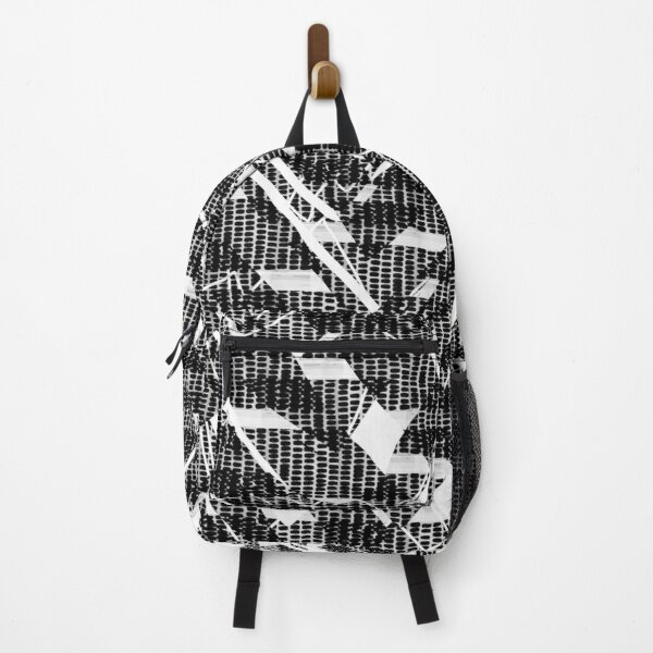 Crazy Pattern stripes lines BNW Backpack