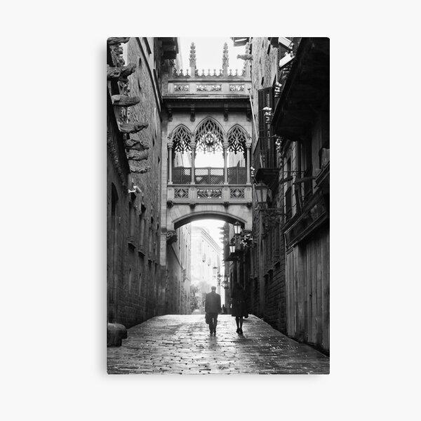 Barri Gotic, Barcelona Canvas Print