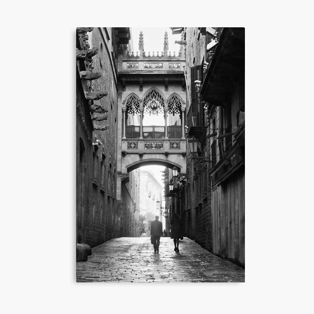 Barri Gotic, Barcelona Lienzo