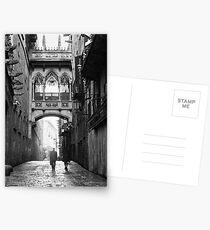 Barri Gotic, Barcelona Postkarten