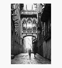 Barri Gotic, Barcelona Photographic Print