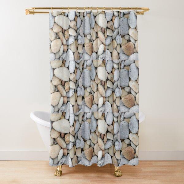 Fondo de Piedras Cortina de ducha