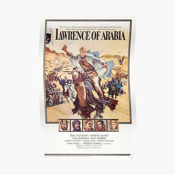 David Lean Lawrence of Arabia Poster