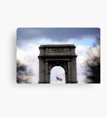 The National Memorial Arch Canvas Print