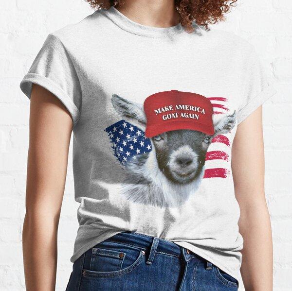 Make America GOAT Again Pygmy Goat 2 Classic T-Shirt