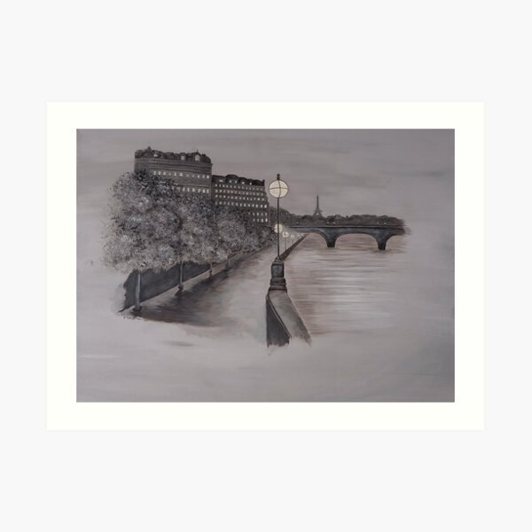 Dream a Little Dream of Paris  Art Print