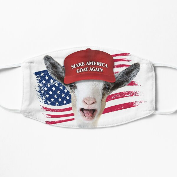 Make America GOAT Again Nigerian Dwarf Goat Flat Mask