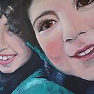 Double Portrait by Mike Paget