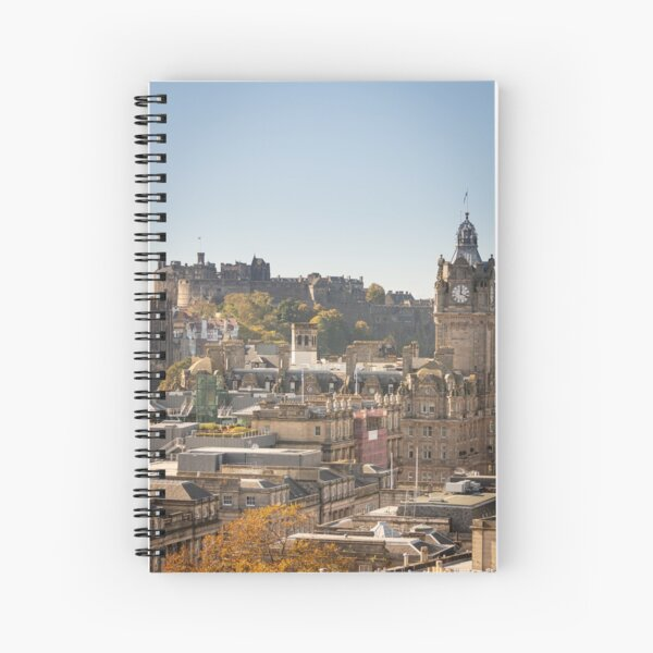 Edinburgh, Scotland (Calton Hill) Spiral Notebook