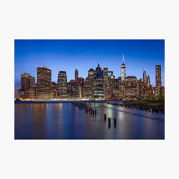Big Apple Nights - New York City Fotodruck