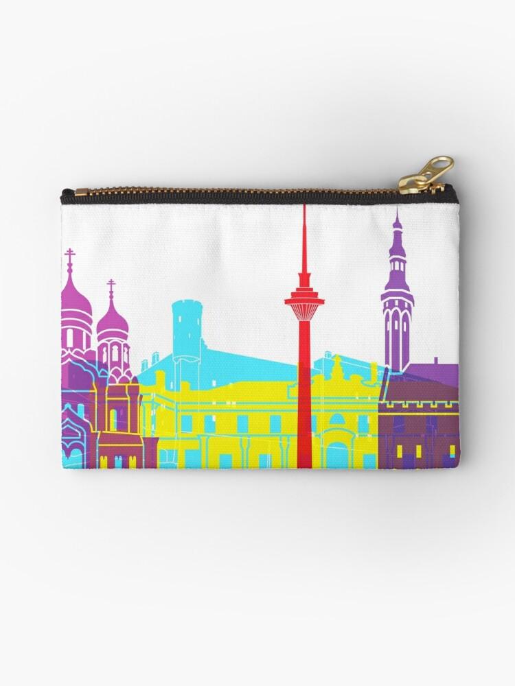 Tallinn skyline pop by paulrommer
