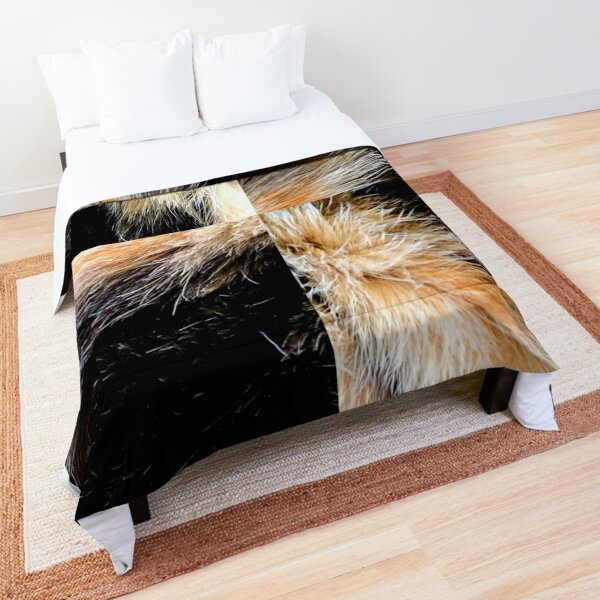 cat print Comforter