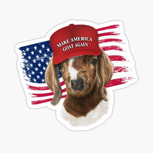 Make America GOAT Again Boer Kid Goat Sticker