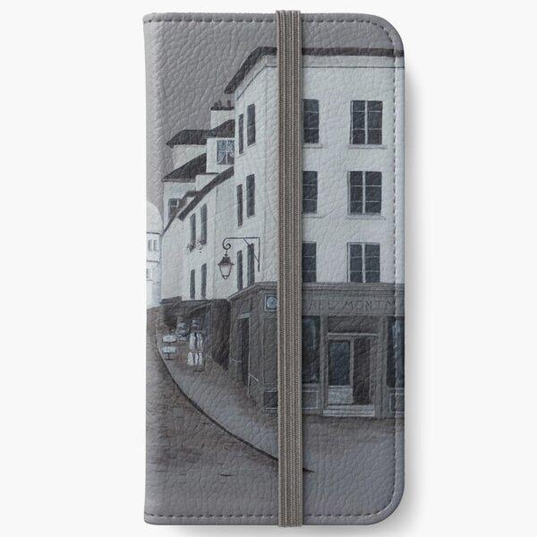 A Walk in Montmartre iPhone Wallet