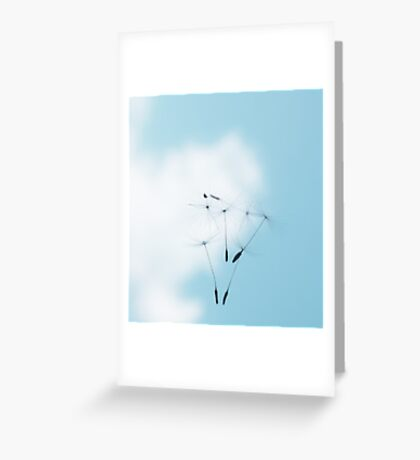 Falling from Heaven Greeting Card