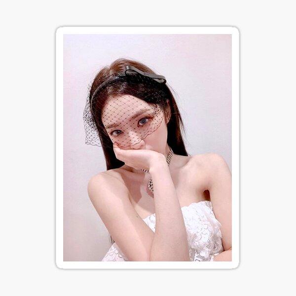 Irene Red Velvet Psycho selfie Glossy Sticker