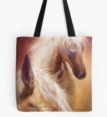 Golden Palomino Tote Bag